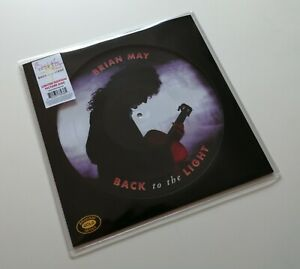 BRIAN MAY Back To The Light Picture Disc Limited Edition FREDDIE MERCURY QUEEN
