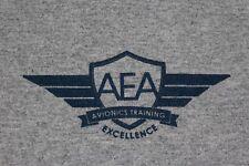 Aircraft Electronics Association Avionics training tour Large gray t shirt