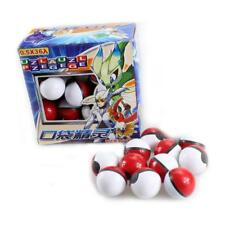 Pokemon Ball 36pcs/lot Small mega Monsters Pokeball Model Toy Boy&Girl Fun Gift