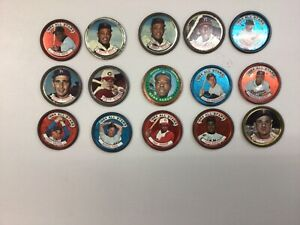 1964 Topps Baseball Coin Star Lot of 14:Mickey Mantle Left Handed All Star #131