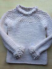 PRINGLE Of Scotland 100% Chunky CASHMERE Handmade jumper S/M RRP £835 BNWT