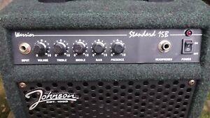 JOHNSON WARRIOR STANDARD  15B - 15 WATT GUITAR AMPLIFIER COMBO WITH PRESENCE