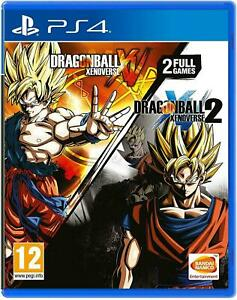DRAGON BALL XENOVERSE AND DRAGON BALL XENOVERSE 2 DOUBLE PACK PS4 GAME Gift Idea