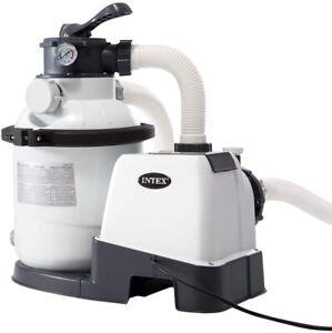 Pompa a Sabbia per Piscina 4.500 lt/h Filtro piscina Intex 26644 nuova