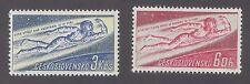 Czechoslovakia SC # 1042 - 43 MNH Space Flight, 1961