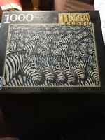 FX SCHMID Ultra Challenge Zebras zooming Puzzle 1000 Pieces 78180 new sealed