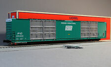 LIONEL PENN CENTRAL 86' HI CUBE BOXCAR 8 DOOR 295443 SCALE o gauge train 6-82425
