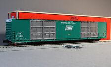 LIONEL PENN CENTRAL 86' HI CUBE BOXCAR 8 DOOR 295443 SCALE o gauge train 6-82425