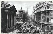 London Postcard - Cheapside and Mansion House    V2058