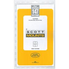 Scott/Prinz Pre-Cut Strips 265mm Long Stamp Mounts 265x147 #1067 Clear