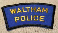"shoulder police patch Texas  /""Home of Wildcats/"" 3.75/"" x 5/"" fire Onalaska"
