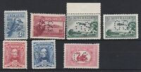 APD527) Australia 1927-30 selection perf OS, fresh mint unhinged.