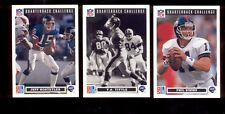 1991 Dominos Pizza New York Giants Set PHIL SIMMS JEFF HOSTETLER Y A TITTLE