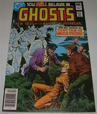 GHOSTS #83 (DC Comics 1979) NEW TALES OF THE WEIRD & SUPERNATURAL! (VF) RARE!