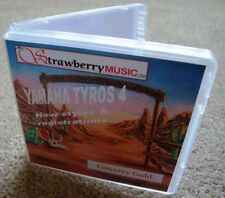 TYROS 4 Software - COUNTRY GOLD new styles & registrations on USB STICK