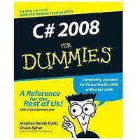 C# 2008 For Dummies: By Davis, Stephen R., Sphar, Chuck