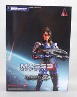 Square Enix PLAY ARTS Kai Mass Effect 3 ASHLEY WILLIAMS Figure