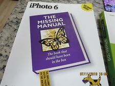 i PHOTO 6 THE MISSING MANUAL