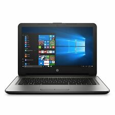 HP 14 inch Laptop Quad-Core 4GB RAM 32GB SSD AMD Radeon R2 Graphics Windows 10