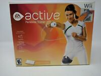 Wii EA Sports Active Personal Trainer OPEN BOX NEW Game Leg Strap Band Nintendo