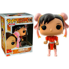 Funko pop Games - Street Fighter Chun-Li red Outfit