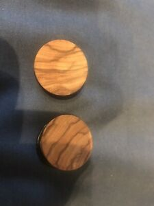 Single Flare Wood Plugs 22mm