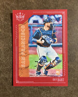 2021 Diamond Kings #63 RED FRAME PARALLEL Joey Bart - Giants ROOKIE RC