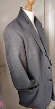 Hugo Boss Blazer ⭐⭐⭐⭐ Designer Jacket Mens Size 44R Grey Wool Mohair 🆒
