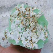 Chrysopal Rough Indonesian Prase Opal 679 Grams Green Opal