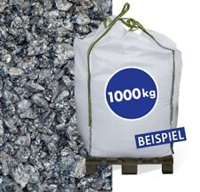 (0,27€/1kg) Granitsplitt Hellgrau 8-16mm 1.000kg Big Bag