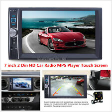 7'' HD 2 Din Car Stereo Radio MP5 Player FM/MP3/Audio/Video/USB/AUX/Mic + Camera