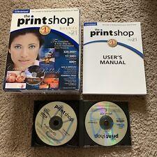 Print Shop Deluxe 21 Desktop Publishing Software Broderbund Photo Projects