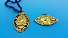 Sandown Park Horse Racing Members Badges - Matching Pair 1931
