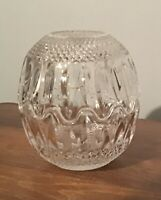 VINTAGE CUT CRYSTAL COVERED CANDY DISH or SET OF 2 BOWLS