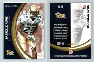 Darrelle Revis #14 Pittsburgh Panthers Collegiate 2016 Panini Trading Card