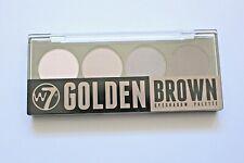 W7 GOLDEN BROWN Eye Shadow Pallet