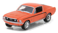 1/64 GREENLIGHT GL MUSCLE SERIES 19 1968 Ford Mustang GT in Madagascar Orange