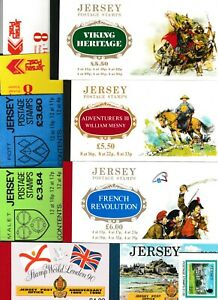 S35020 Jersey MNH n.11 Different Booklets As For Scan
