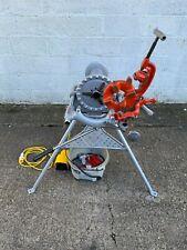 "Reconditioned Ridgid 300 Pipe Threading Machine 110V, 1/2"" - 2"" BSPT"