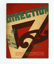 1938 Le Corbusier DIRECTION magzine WPA Artists John Dos PASSOS Theodore DREISER