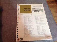 Service Manual Philips Gramophones 22 GF808