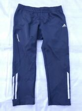 Adidas Formotion Climalite Running Cropped Capri Tights Pants M Gray Stretch