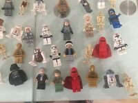 Lego 6 Random STAR WARS Minifigures  Job Lot. Minifig trooper clone, rey Anakin