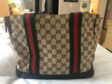 Geniune Gucci Sherry Line Dog Carrier - Excellent For Small Dog