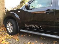 2x Door Decal / Sticker Fits Nissan Navara Side Vinyl Decals Off Road pick up