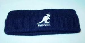 Rare! Neuf Licence Kangol Bermuda Tricot Unisexe Bandeau Bonnet Béret Marine Sac