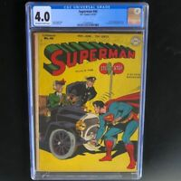 Superman #46 (1947) 💥 CGC 4.0 💥 1st mention of Superboy in title! DC Comics