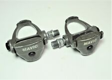 LOOK MAVIC GRAY ROAD TOURING RACE BICYCLE ALLOY CLIPLESS PEDALS  9/16 X 20 TPI