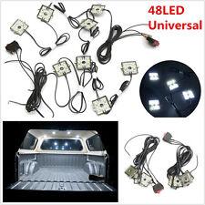 DC12V 8 Pcs 48LED Autos Truck Body Bed Neon LED Lighting Lights White Waterproof