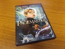 The Pagemaster  WS (DVD, 1994) Near Mint!